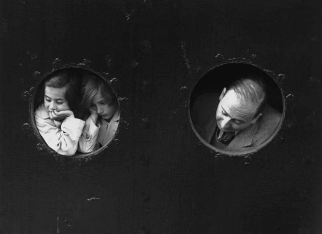 Refugees At Portholes